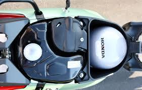 Frente da Moto Honda