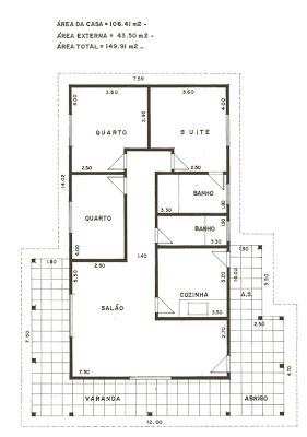 casa 201 Planta de Casas Gratis, Dicas Para Sua Construção