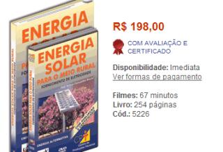 curso 20energia 20solar Curos de Energia Solar Fotovoltaica em DVD, Promoção