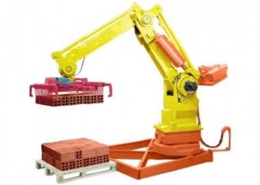maquina 20de 20empilhar 20tijolos Robô Politizador, Empilhar e Enforcamento de Tijolos, Máquinas Man