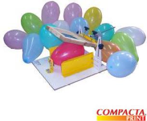 maquina 20silkar 20bal C3 A3o Máquina Para Impressão em balões, Compacta Print