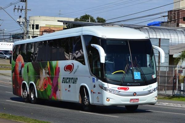 Eucatur: passagem e horário de ônibus