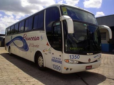 Ônibus Viação Princesa do Oeste