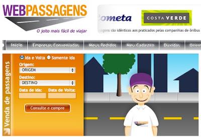 WebPassagens, Passagem Online