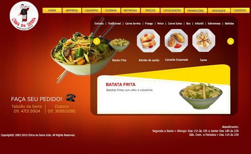 CHINA 252520DA 252520SERRA Restaurante Chinês em Osasco, Endereço e Telefone