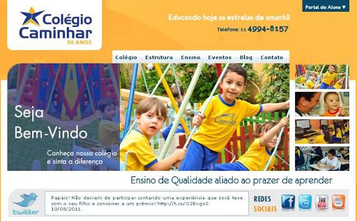 COLEGIO 252520CAMINHAR Escolas Particulares em Santo André, Endereço e Telefone