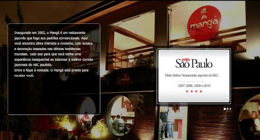 MANG 2525C3 252581 Restaurante Japonês em Santo André, Endereço e Telefone