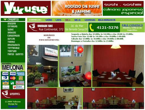 YUKUSUE Restaurante Japonês em São Bernardo do Campo, Endereço e Telefone