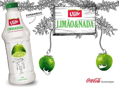 LIMONADA Limão & Nada, Limonada, Novidade da Coca-Cola