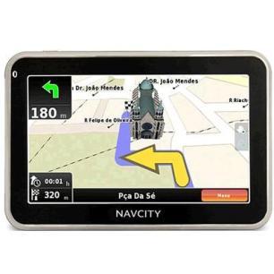 Comprar GPS NavCity em Promoção, Ponto Frio, Preços