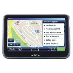GPS Orbiter Barato, Compra Fácil