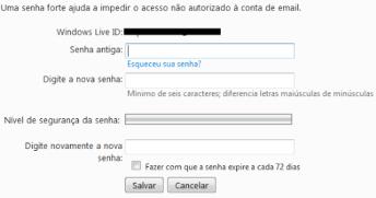 Como Mudar a Senha do MSN, Messenger