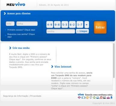 Cadastrar Meu Celular Vivo Online Pela Internet