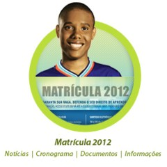 Matriculas Salvador Salvador - Matrículas 2012