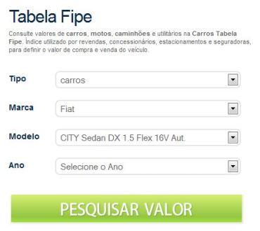 Entenda a Tabela FIPE Carros Entenda a Tabela FIPE Carros