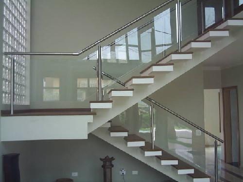 Corrimão de Vidro Blindex Para Escada 4 Corrimão de Vidro Blindex Para Escada