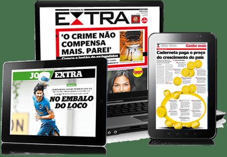 Jornal Extra Assinatura Digital Jornal Extra - Assinatura Digital