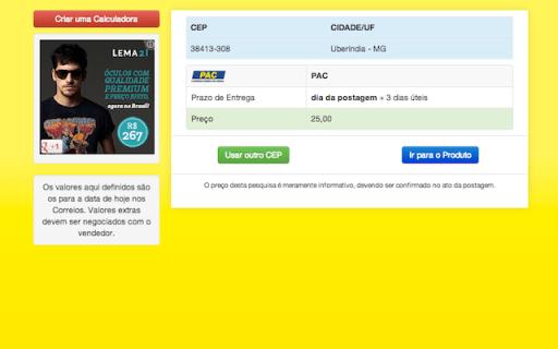Captura de Tela 2013 03 08 às 15.28.08 Calculadora de Frete para sites