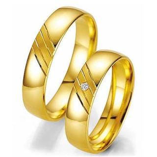 Tipos de aliança para casamento