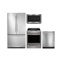 4 Piece Stainless Steel Kitchen Package Simple Table Centerpiece Ideas Appliance Packages Financing And