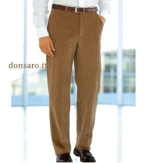 Pantalone Classico Uomo Velluto a coste mille righe Duca Visconti di Modrone 719  Don Saro