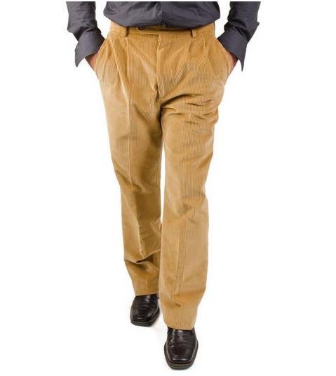 Pantalone uomo con pens velluto DUCA VISCONTI di MODRONE