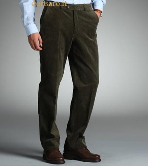 Pantalone Uomo Velluto Duca Visconti di Modrone 613  Don Saro