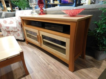 Olbrich Gardens TV Stand with Glass Doors