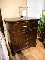Hamilton 3-Drawer Nightstand - Nisley Fully Customizable. Please contact us for pricing details.