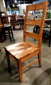 Carlisle Side Chair with Wood Seat and Medium Distressing Wood Species Shown: Brown Maple Special Feature: Medium Distressing Fully Customizable. Please contact us for pricing details.
