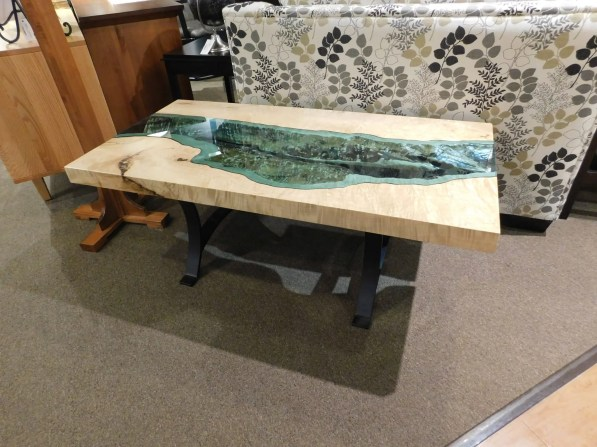 River Coffee Table One of a Kind. This piece is not available for sale, but you are welcome to order one of your own. Please contact us for pricing details.