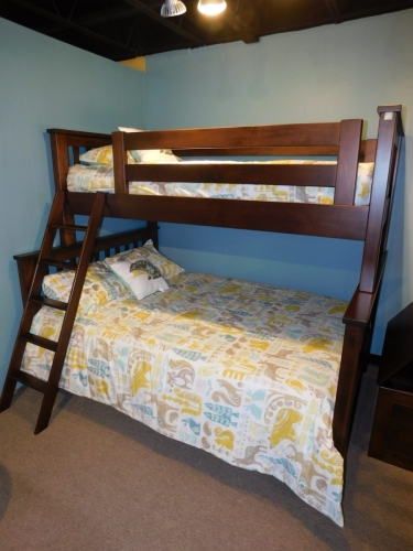 Miller's Mission Twin Over Full Bunk Bed