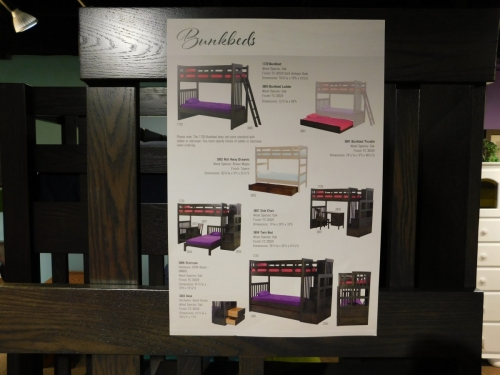 Bunkbed Options Infographic