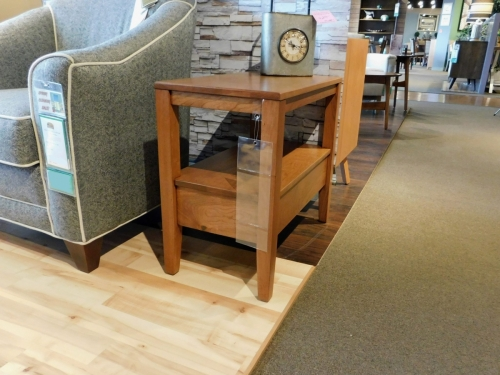 Century Rectangular Small End Table