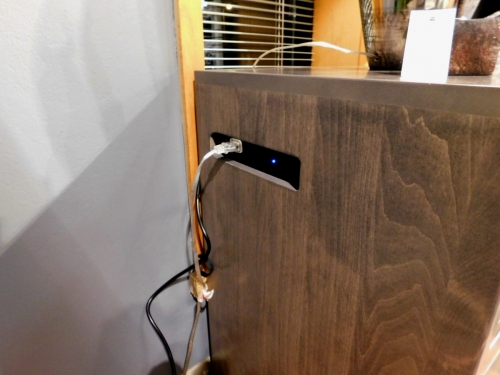 Hadley 3-Drawer Nightstand with USBs and Outlets