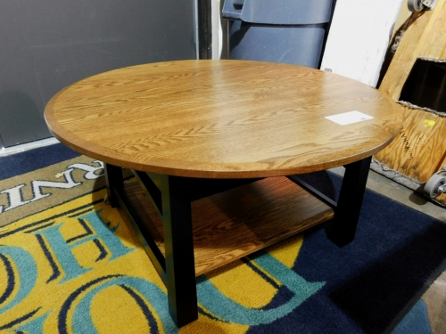 Madison with Bow Round Coffee Table