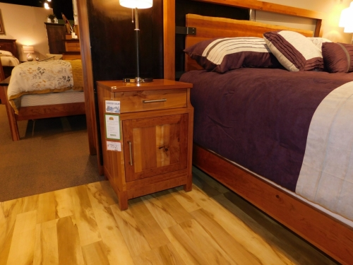 Westmere 1-Door / 1-Drawer Nightstand with USB Outlets on Side