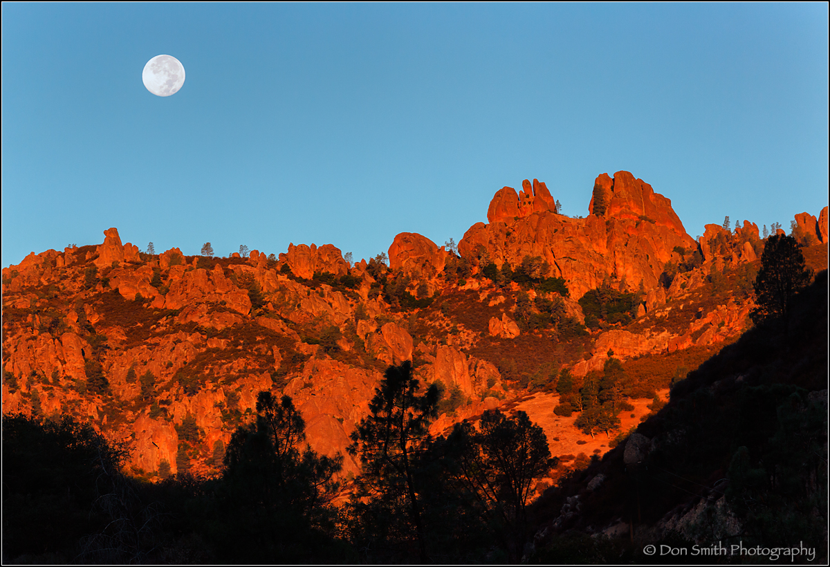 photographing pinnacles national park