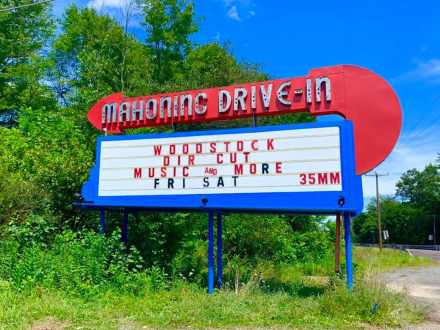 Mahoning Drive-In Theater - Summer of the Drive-In