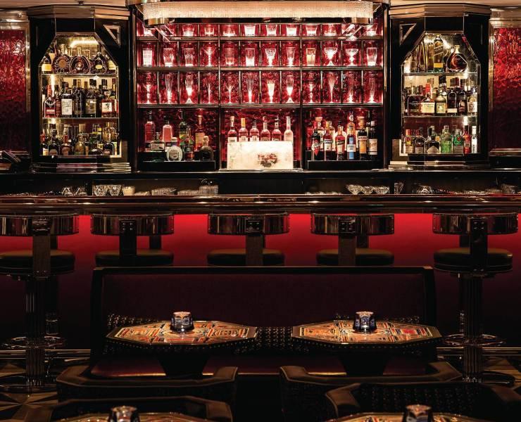 Baccarat Bar at Harrod's