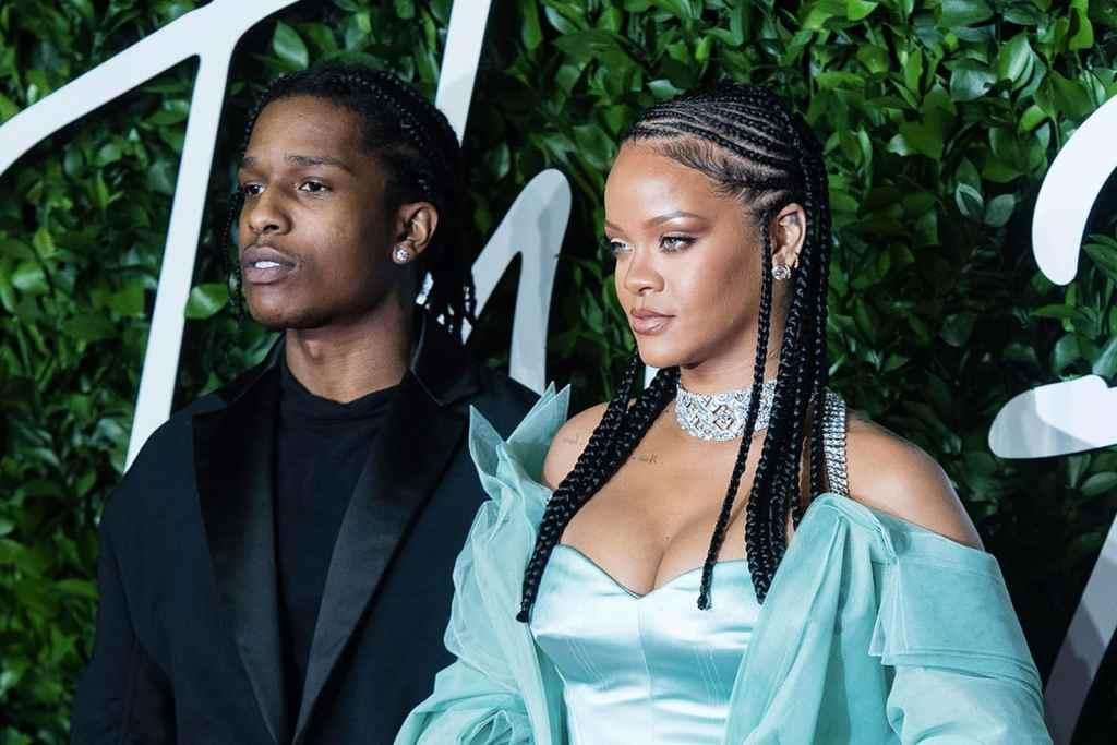 ASAP Ferg and Rihanna — British Fashion Awards