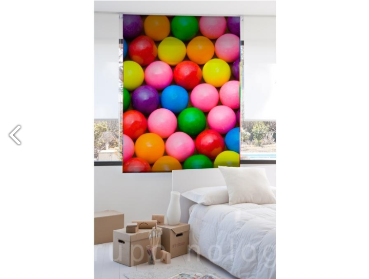 originales cortinas enrollables infantiles