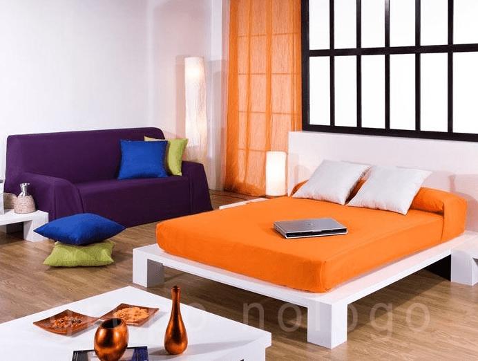 plaid de sofá en verano; plaid de verano para sofá