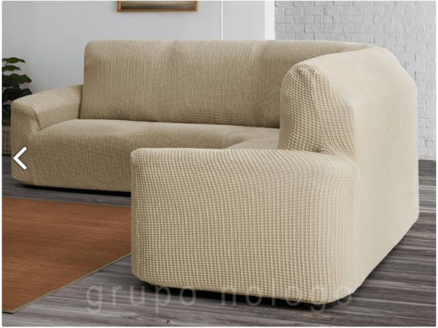 fundas de sofás rinconera