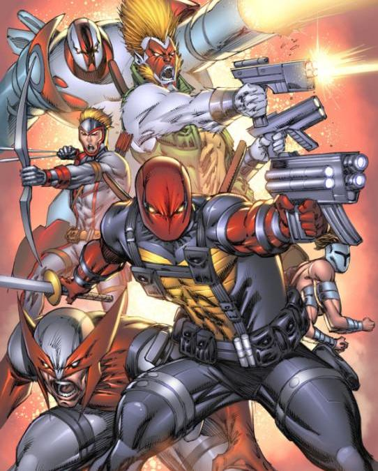 Rob Liefeld'ss vampire hit squad comic 'Bloodstrike' may be coming to theatres