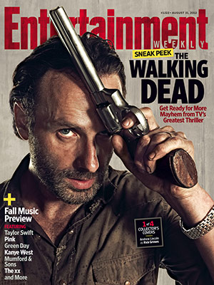 Entertainment Weekly shows off Walking Dead covers