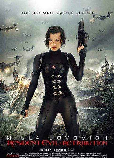 New Resident Evil: Retribution Poster and TV Spots debut!