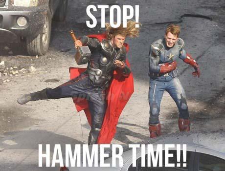 The Avengers Gag Reel