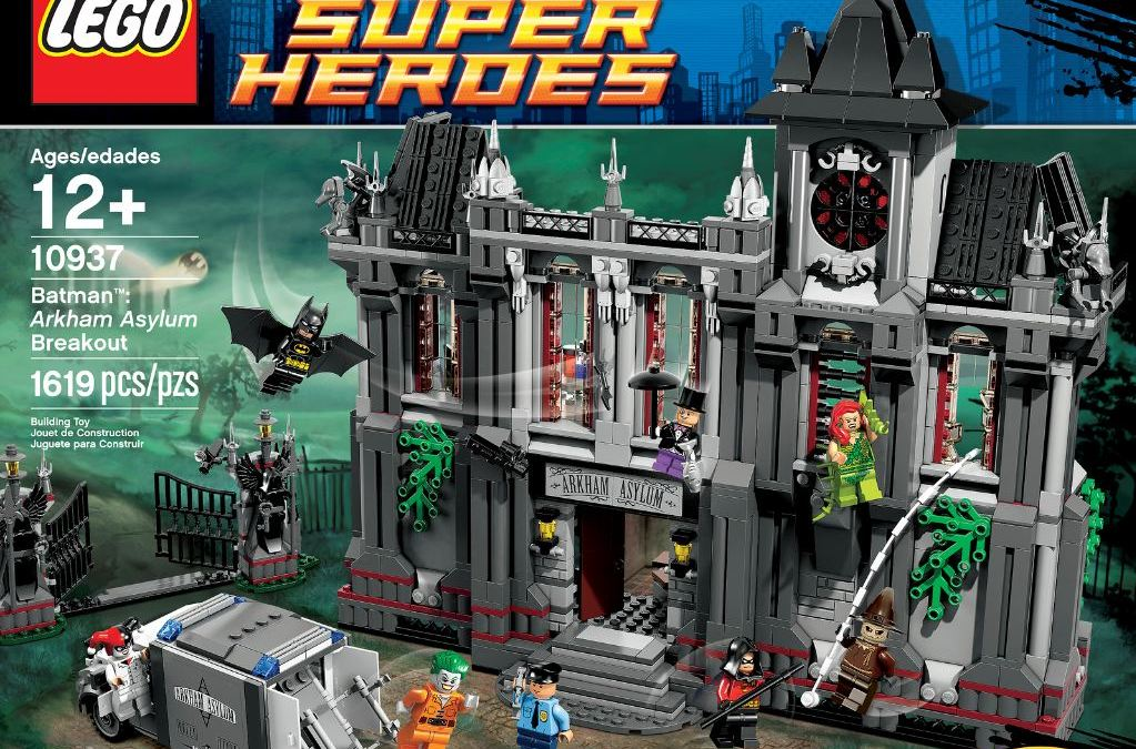 LEGO announces AWESOME Arkham Asylum Set!
