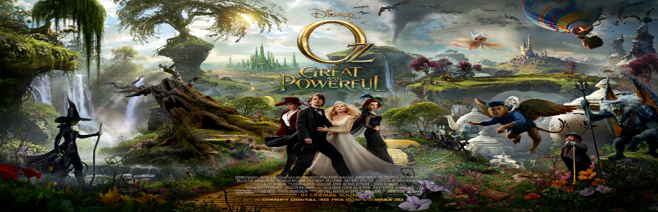 Oz the Great and Powerful- First clip from the fantasy flick!